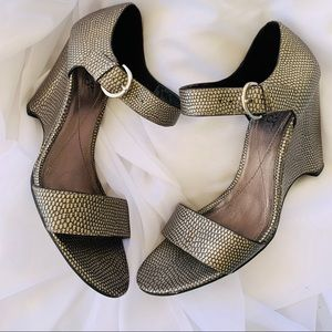 "Franco Sarto Closed Back 4"" Wedges"